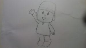 Cómo dibujar a Pocoyó