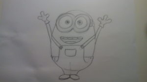 Cómo dibujar Minions - Bob