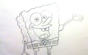 Cómo dibujar a Bob Esponja