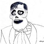 Dibujos para colorear de Coco la película. Ernesto de la cruz