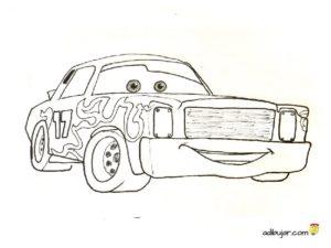 Darrell Cartrip, dibujo para colorear e imprimir