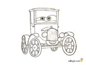 Lizzy, dibujo para colorear e imprimir