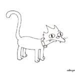 Gato de los Simpson: Snowball