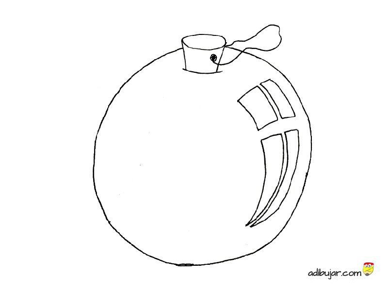 Bolas Decoraci Ef Bf Bdn Arbol De Navidad Dibujo